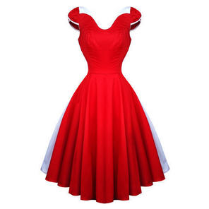 Hearts and Roses London Red White 50s Vintage Party Swing Jive Pinup Dress