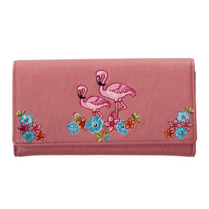 Banned Pink Flamingo Wallet