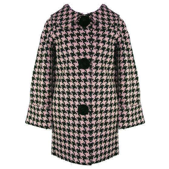 Hell Bunny Kelly Pink Coat