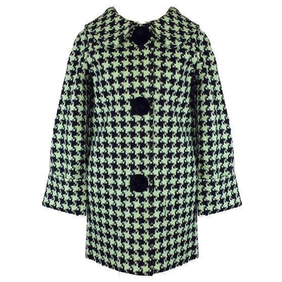 Hell Bunny Kelly Mint Coat