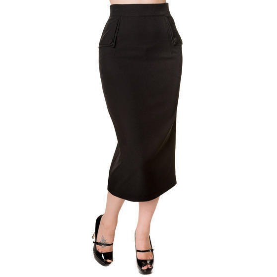 banned black pencil skirt banned days