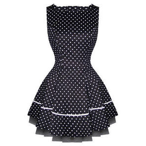 Hearts and Roses London Small Dot 1950s Mini Dress