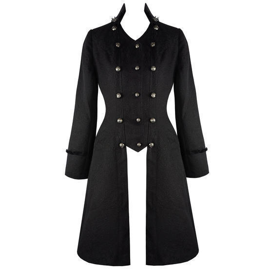 Hearts and Roses London Black Tail Coat