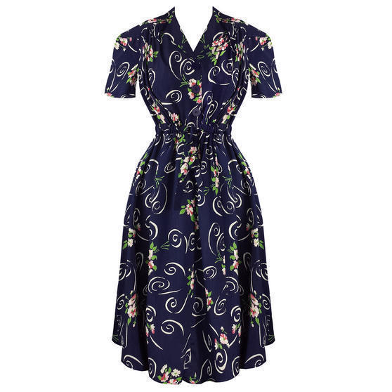The Seamstress of Bloomsbury 1942 1940s Dress