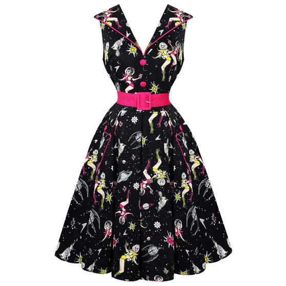 Voodoo Vixen Atomic 1950s Dress
