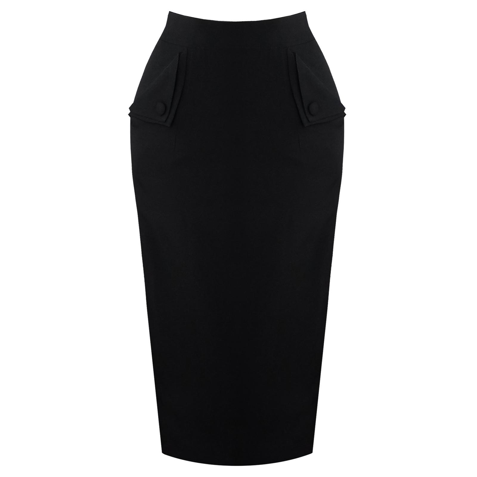 banned black pencil skirt 1950s fashion starlet vintage