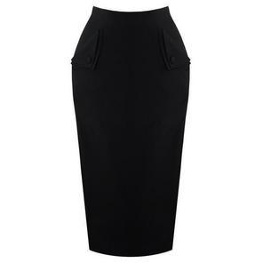 Banned Black Pencil Skirt