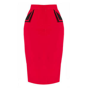 Banned Red Pencil Skirt
