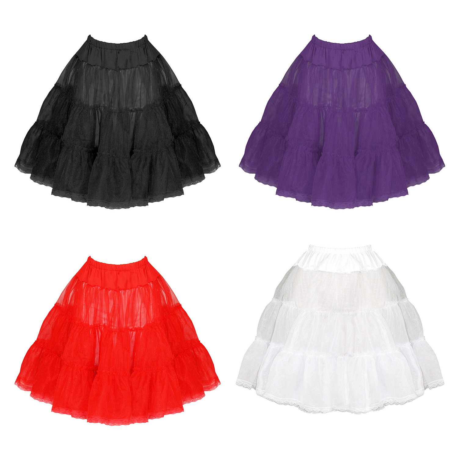 Plus Size Vintage 50s Petticoats | Pinup Petticoats UK | Starlet ...