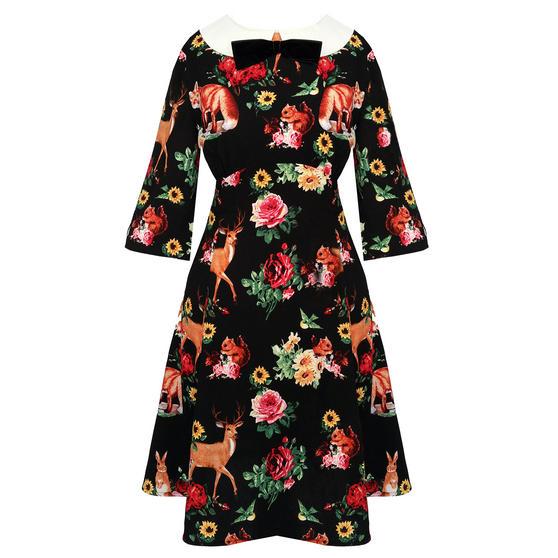 Hell Bunny Hermeline 1960s Dress