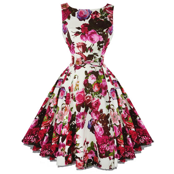 Hearts and Roses London Audrey 1950s Dress