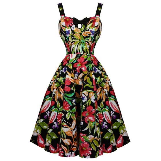 Hearts and Roses London Lush Lily 1950s Dress
