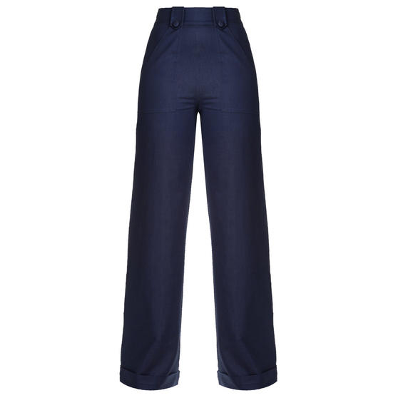 Dancing Days Blueberry Hill Flared Trousers
