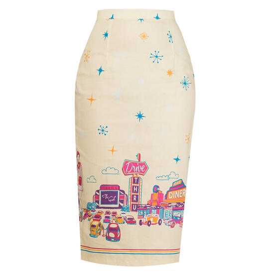 Dancing Days Hold Tight Pencil Skirt