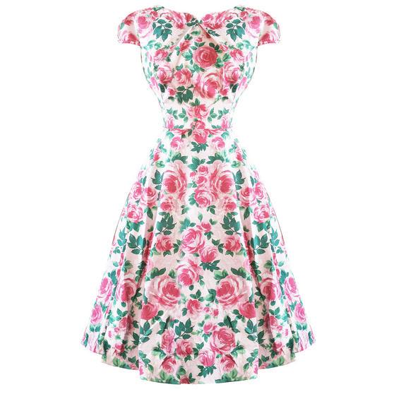 Hearts & Roses London English Rose 1950s Dress