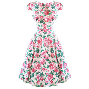 Hearts & Roses London English Rose 1950s Dress