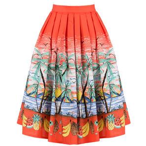 Dancing Days Palm Spring Swing Skirt