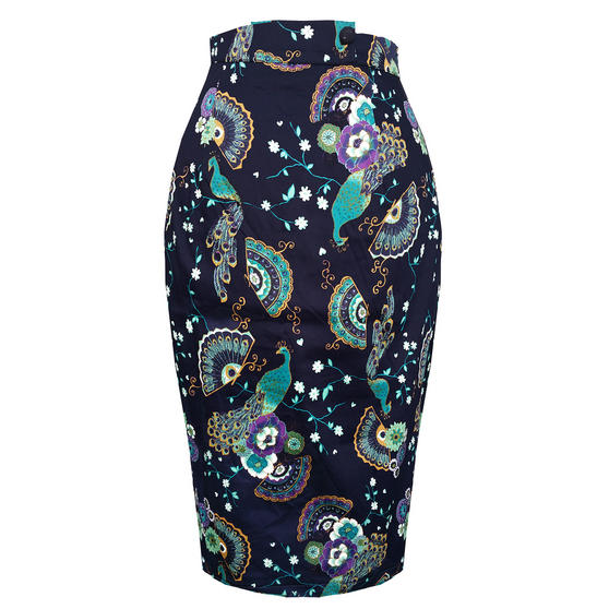Dancing Days Proud Peacock Pencil Skirt