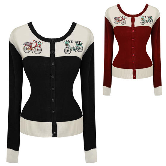 Dancing Days Bicycle Cardigan