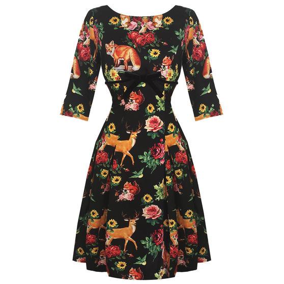 Hell Bunny Hermeline 1950s Dress