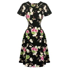 Hell Bunny Freya 1940s Dress