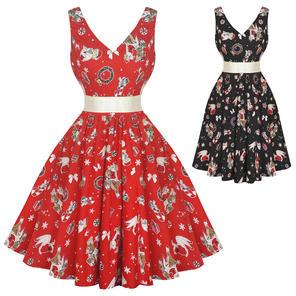 Hell Bunny Blitzen 1950s Dress