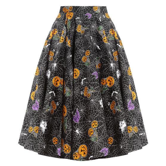 Hell Bunny Harlow 1950s Skirt