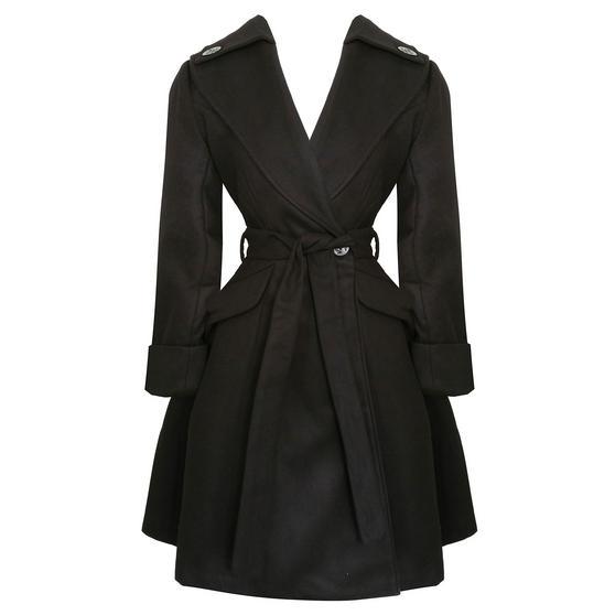 Hell Bunny Olga Coat