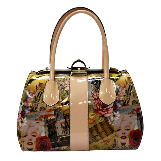 Hearts and Roses London Retro Icon Handbag