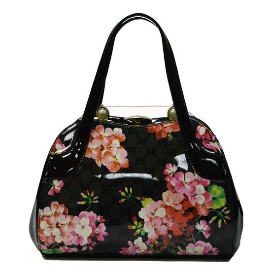 Hearts and Roses London Floral Handbag