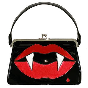 Hell Bunny Kiss Me Deadly Handbag