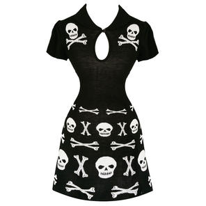 Banned Black Afterlife Skull Dress