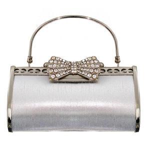 Vintage Silver Clutch Bag