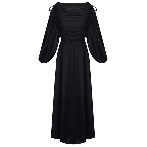 Hell Bunny Shoreditch Maxi Dress