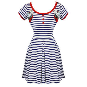 Hell Bunny Marella Skater Dress