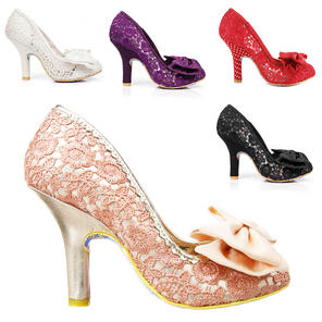 Irregular Choice Mal E Bow Shoes