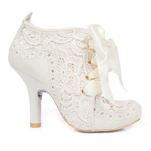 Irregular Choice Abigail's Third Party Cream Boots