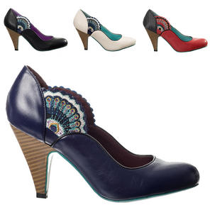 Dancing Days Sway Peacock Shoes