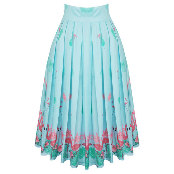 Dancing Days Going My Way Flamingo Skirt