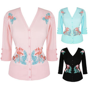 Dancing Days Face to Face Flamingo Cardigan