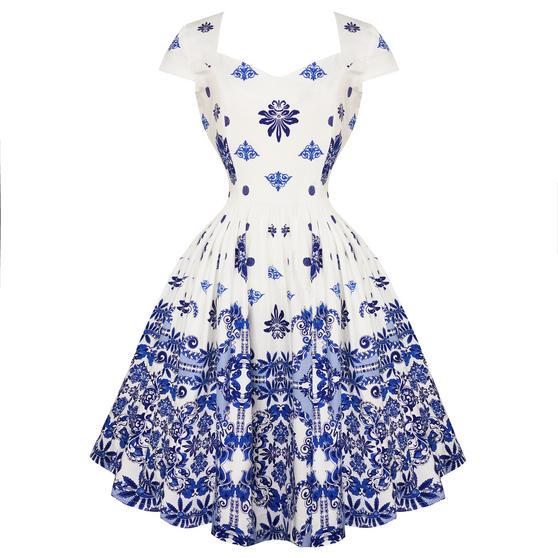 Dancing Days Follow You 1950s Dress