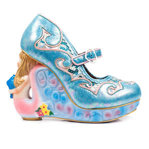 Irregular Choice Siren of the Sea Blue Mermaid Heel Unique Collectable Shoes
