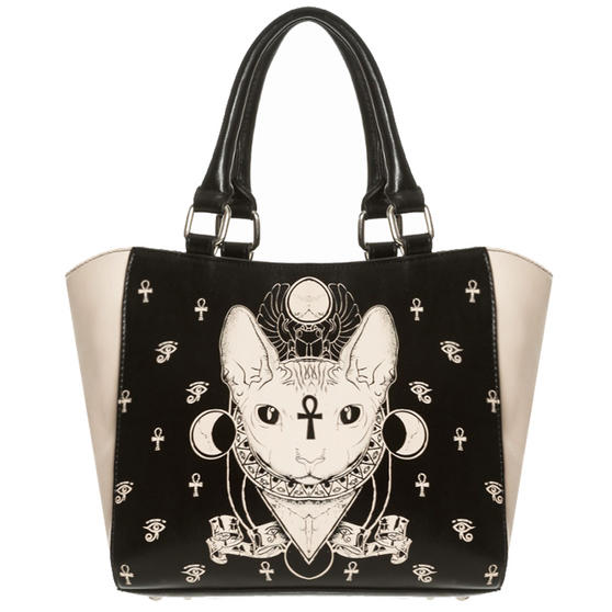 Banned Bastet Sphynx Handbag