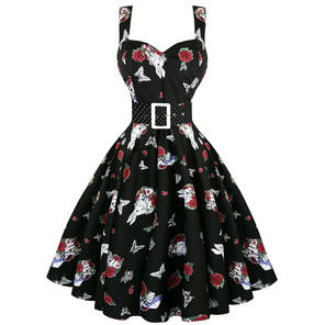 Hell Bunny Drink Me 1950s Dress