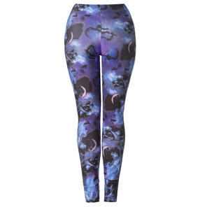 Hell Bunny Spin Doctor Orpheus Leggings