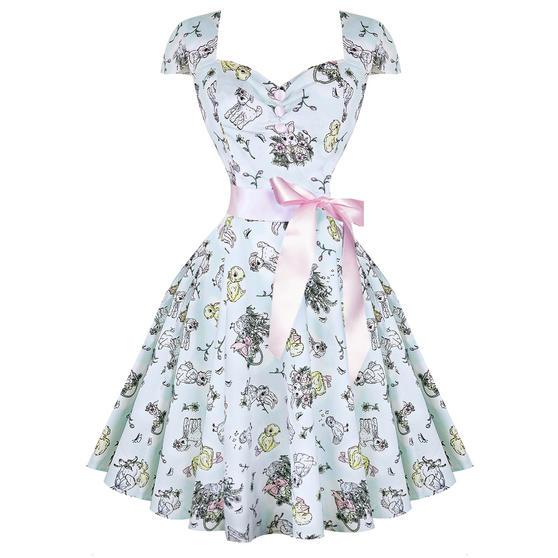 Hell Bunny Bunny Rabbit 1950s Dress