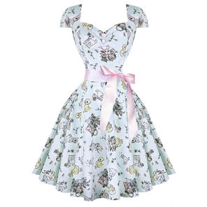 Hell Bunny Bunny Rabbit 1950s Dress