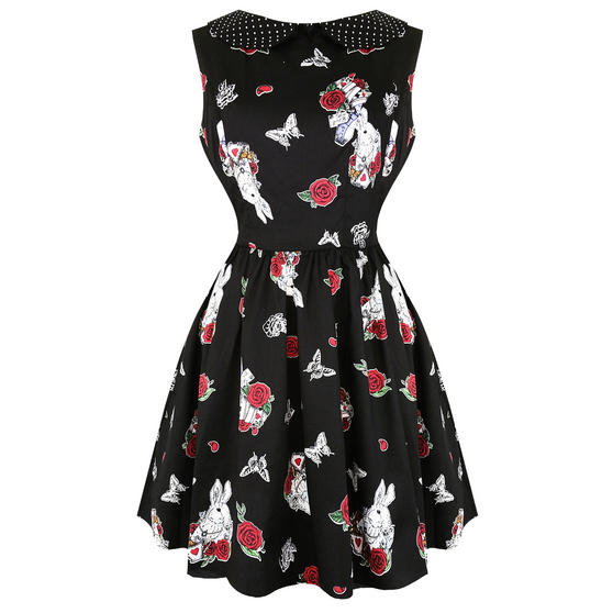 Hell Bunny Drink Me Mini Dress