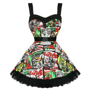 Hell Bunny B Movie Mini Dress