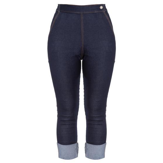 Hell Bunny Ronnie Capri Jeans
